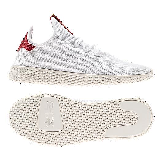 7421e50a9 adidas Women s Pharrell Williams Tennis Hu Shoes - White Collegiate  Burgundy. (0). View Description