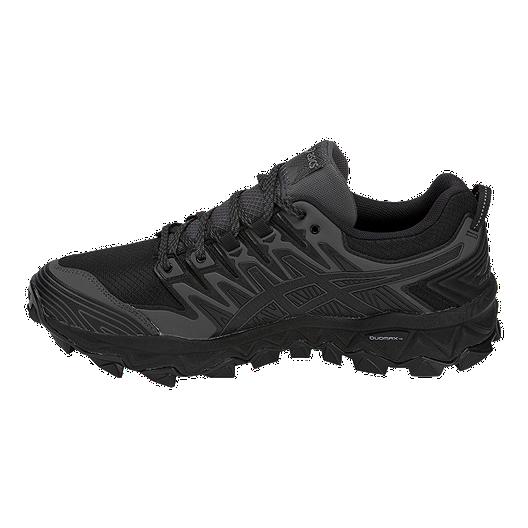 6f543dec ASICS Men's Gel Fujitrabuco 7 GTX Trail Running Shoes - Black/Grey ...