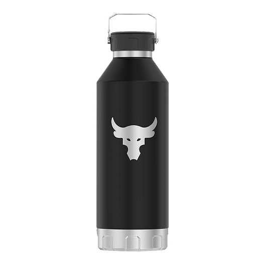 new concept 3f389 f1860 Under Armour 40 oz X Project Rock Peak Water Bottle - Stainless Steel    Sport Chek
