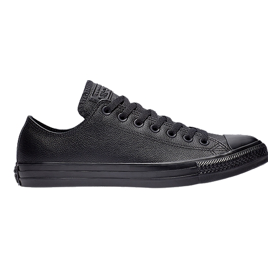 Converse Men's Chuck Taylor All Star Ox Leather Shoes Black