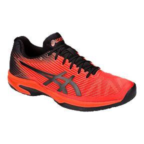 finest selection 7f3ce c8b81 ASICS Men's Gel Solution Speed FF Tennis Shoes - Red/Black