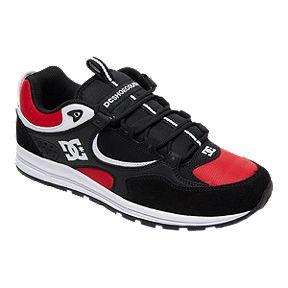 78e29f9eac DC Men s Kalis Lite Shoes - Black Red