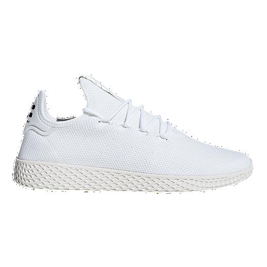 057ab83917cee adidas Men s Pharrell Williams Tennis Hu Shoes - Cloud White Chalk White