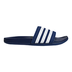 adidas Men's Adilette CF+ Slide Sandals - Collegiate Navy/White