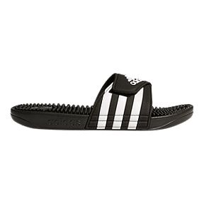 adidas Women s Adissage Slide Sandals - Core Black White d68139c77