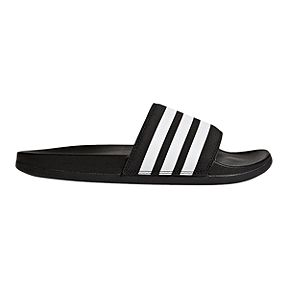 e732bc2c9da7 adidas Women s Adilette Slide Sandals - Core Black White