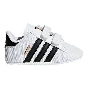 b2cc4a5dea8f7 adidas Infant OG Superstar Crib Shoes - White Core Black