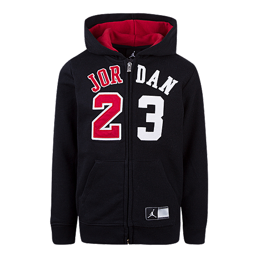 d47d5771a59ba7 Jordan Boys  Flight History Full Zip Hoodie