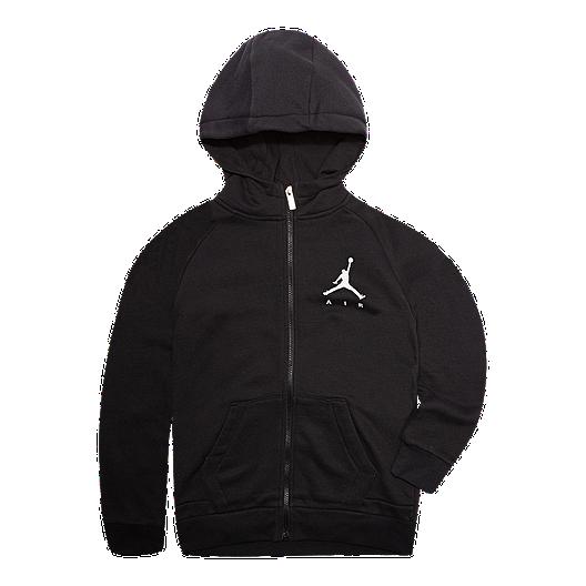 083463ba4c460f Jordan Boys  Jumpman Fleece Full Zip Hoodie