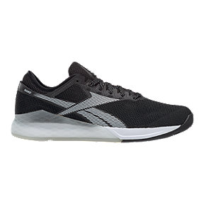 Reebok Men's CrossFit Nano 9 Training Shoes - Black/White/Grey