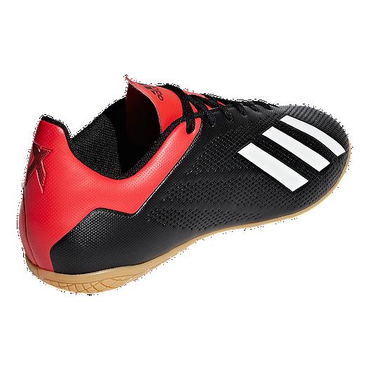 e30eda66e251c adidas Men s X 18.4 Indoor Court Shoes - Black Red. (0). View Description
