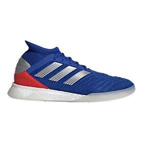 177b34719a54 adidas Men s Predator Tango 18.1 TR Shoes - Blue Silver Red