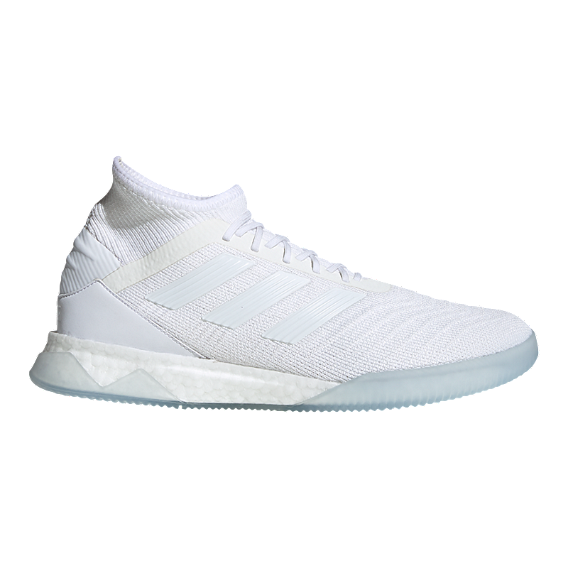 94cb7ee0f adidas Men's Predator Tango 19.1 Indoor Soccer Shoes - White/Grey | Sport  Chek