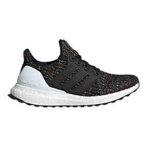 adidas Girls' Ultraboost Grade School Shoes - Core Black/White/Active Red