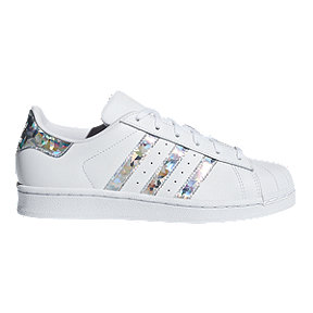 adidas Girls' Superstar Shoes - White