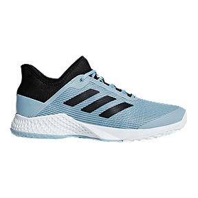 promo code 4bc74 822fc adidas Men s Adizero Club Tennis Shoes - Blue  Black