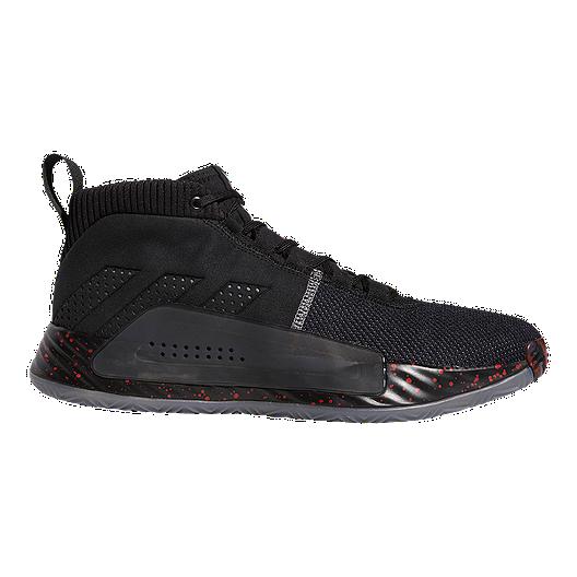 1ad59b7beb80 adidas Men's Dame 5 Basketball Shoes - Black/Grey | Sport Chek
