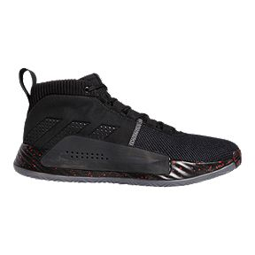 cca7524bbed54 adidas Men s Dame 5 Basketball Shoes - Black Grey