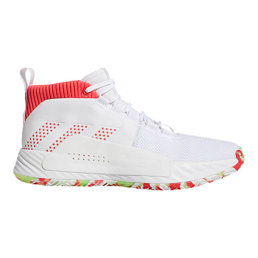 Adidas Originals Men's Dame 5 Basketball Shoes, White Size