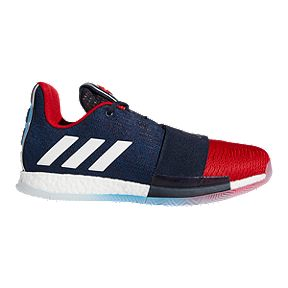 11ae1476d6e adidas Men s Harden Vol. 3 Basketball Shoes - Dark Blue