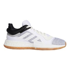 huge selection of 8d590 69c36 adidas Mens Marquee Boost Low Basketball Shoes - WhiteBlack