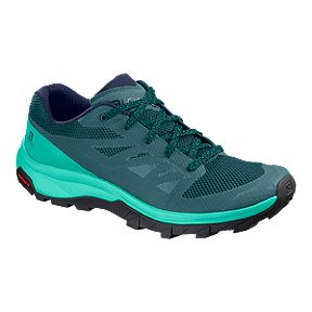 e40f9b278bf Salomon Women s Outline Hiking Shoes - Hydro Blue