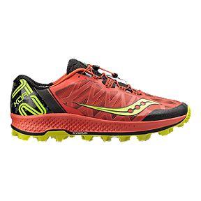 da2ce9d7fe37 Saucony Men s Koa ST Trail Running Shoes - Orange Citron