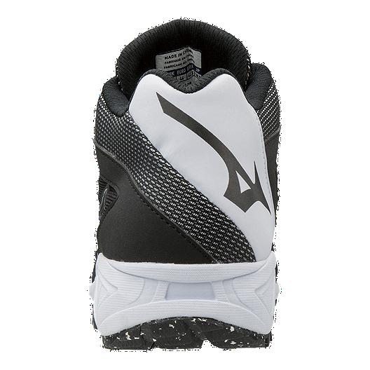 224887bfc0f8 Mizuno Men's Dominant All Surface Mid Turf Shoes - Black/White. (0). View  Description