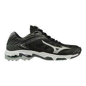 c122bb0e7681bd Mizuno Men's Wave Lightning Z5 Indoor Court Shoes - Black/Silver