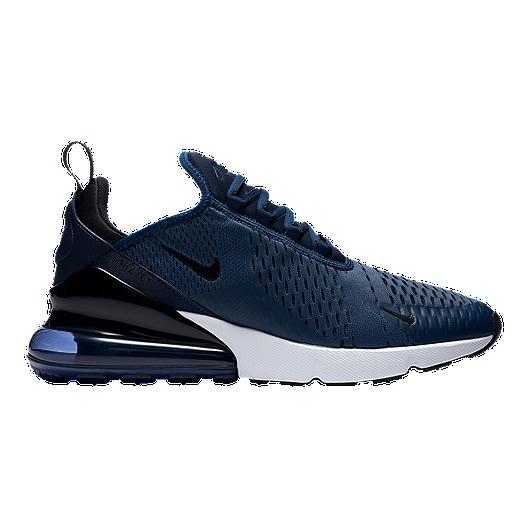 premium selection 1d9f5 5c260 Nike Men s Air Max 270 Shoes - Midnight Navy White   Sport Chek