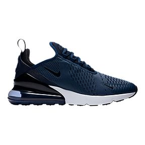 size 40 105a9 d7fd3 Nike Mens Air Max 270 Shoes - Midnight NavyWhite