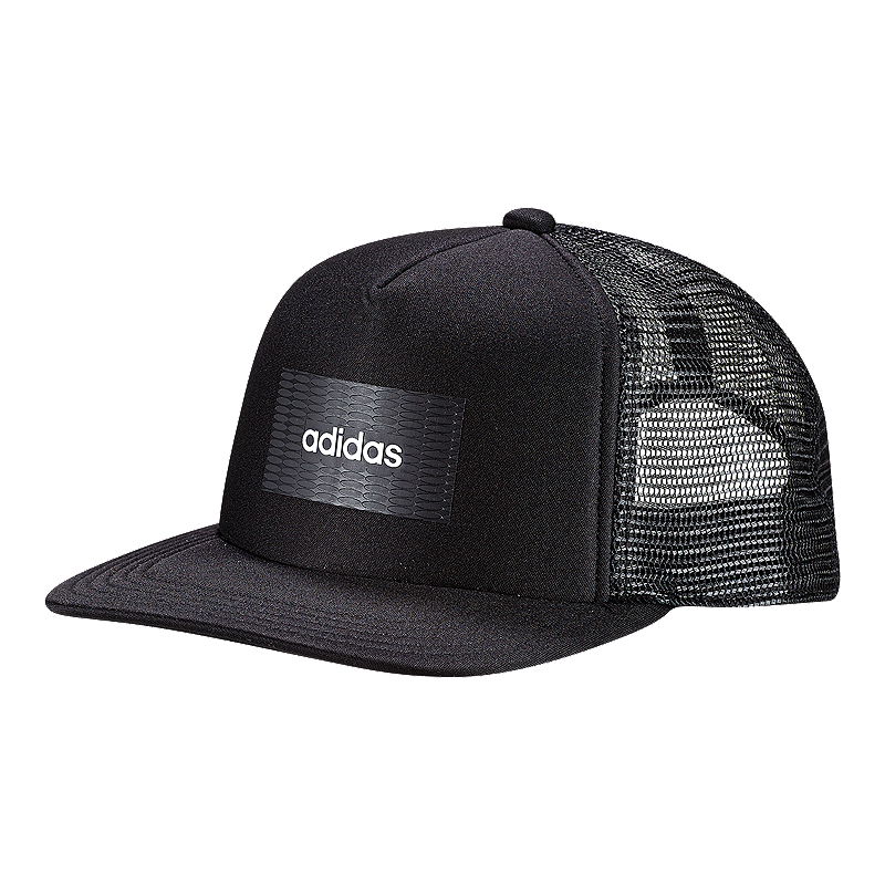 00352f6ba1 adidas Men's H90 Linear Trucker Hat - Black