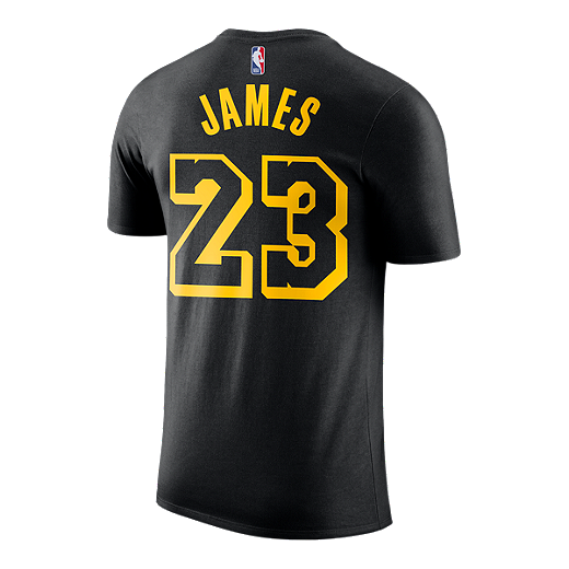 separation shoes c8b9d 8371d LA Lakers Nike Dri-FIT James Player Tee