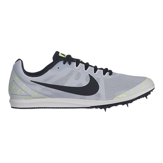 official photos aa095 ae1f2 Nike Men s Zoom Rival D 10 Running Shoes - Silver Black   Sport Chek
