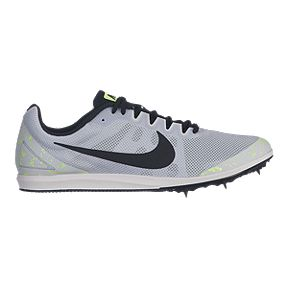 official photos 59fa0 3870d Nike Men s Zoom Rival D 10 Track   Field Running Shoes - Silver Black