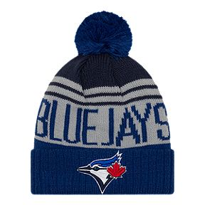 40a45a136596db Toronto Blue Jays New Era Team Pride Pom Knit
