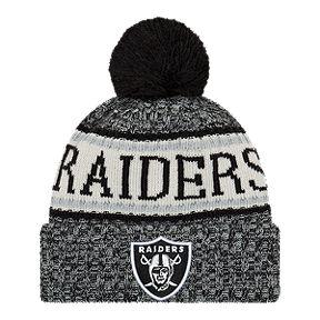05bca0636e84 Oakland Raiders New Era Cold Weather Sport Knit