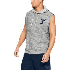 c1e686409b529d 25% Off* - Discount Applied. Under Armour Men's Project Rock Terry  Sleeveless Hoodie