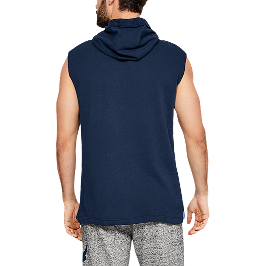 beba6169988aa Under Armour Men s Project Rock Terry Sleeveless Hoodie