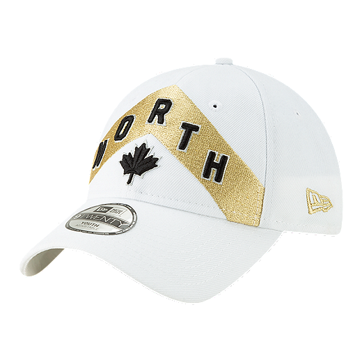 timeless design 89e6a 88fe0 Youth Toronto Raptors New Era City Edition 9TWENTY Cap - WHITE