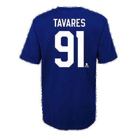 4d92df0af007 Toronto Maple Leafs Reebok Youth John Tavares Short Sleeve Player T-Shirt