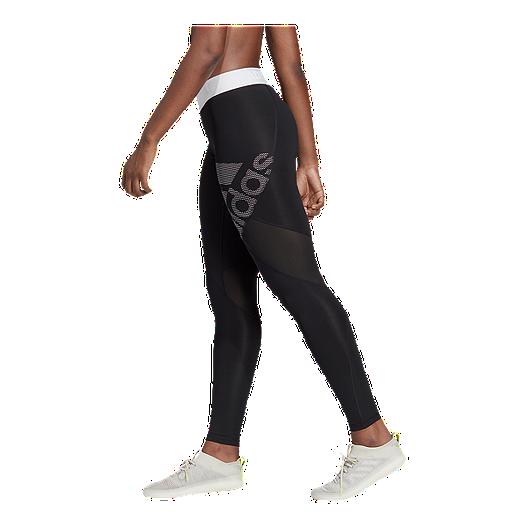 9ad86eee158 adidas Women's Alphaskin Logo Long Tights | Sport Chek
