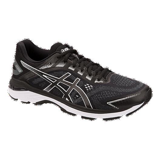 242483ba925 ASICS Men's GT 2000 7 4E Running Shoes - Black/White