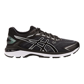 ASICS Men's GT 2000 7 Running Shoes - Black/White
