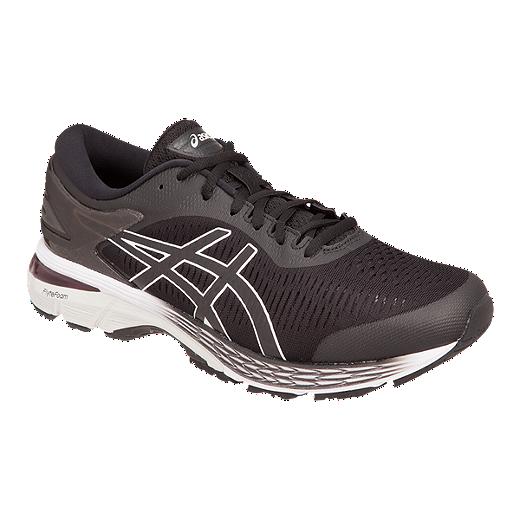999ee302b ASICS Men s Gel Kayano 25 4E Running Shoes - Black Grey - BLACK GLACIER