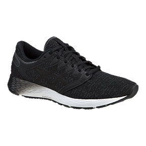 ASICS Men's Roadhawk Flytefoam 2 Running Shoes - Grey/Black