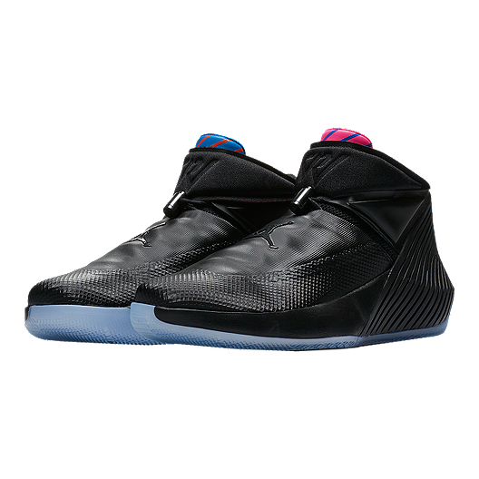 new style 9da4d 9e051 Nike Men s Jordan Why Not Zero.1 Basketball Shoes - Black Blue Pink