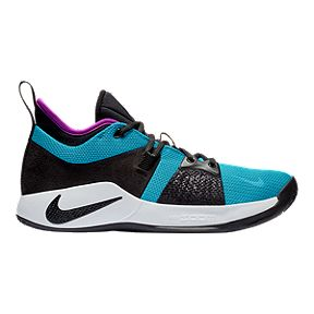 ab68fc63ac08 Nike Men s PG 2 Basketball Shoes - Blue Lagoon Black Violet