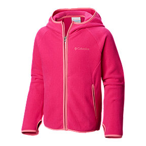 Columbia Toddler Girls' Fast Trek Fleece Hoodie