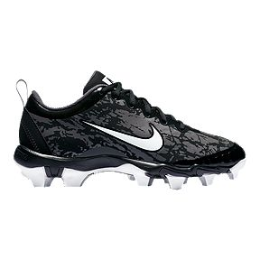 purchase cheap fad17 de983 Nike Women s Hyperdiamond 2.5 Keystone Baseball Cleats - Black White